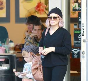 L'actrice et chanteuse Hilary Duff