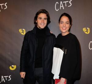 """Anouchka Delon et son petit ami Julien Dereims, se partagent l'affiche de la pièce """"Libres sont les papillons"""" actuellement au Théâtre de la Rive Gauche."""
