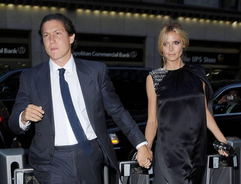 Heidi Klum et son petit ami  Vito Schnabel.