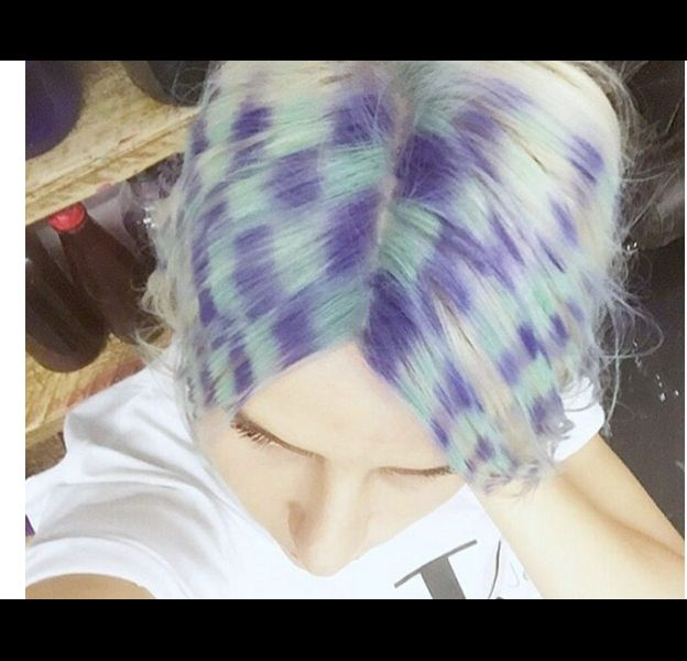 Checkerboard Hair, la nouvelle tendance folle venue d'Angleterre.
