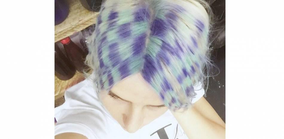 Checkerboard Hair, la nouvelle tendance folle venue d'Angleterre.