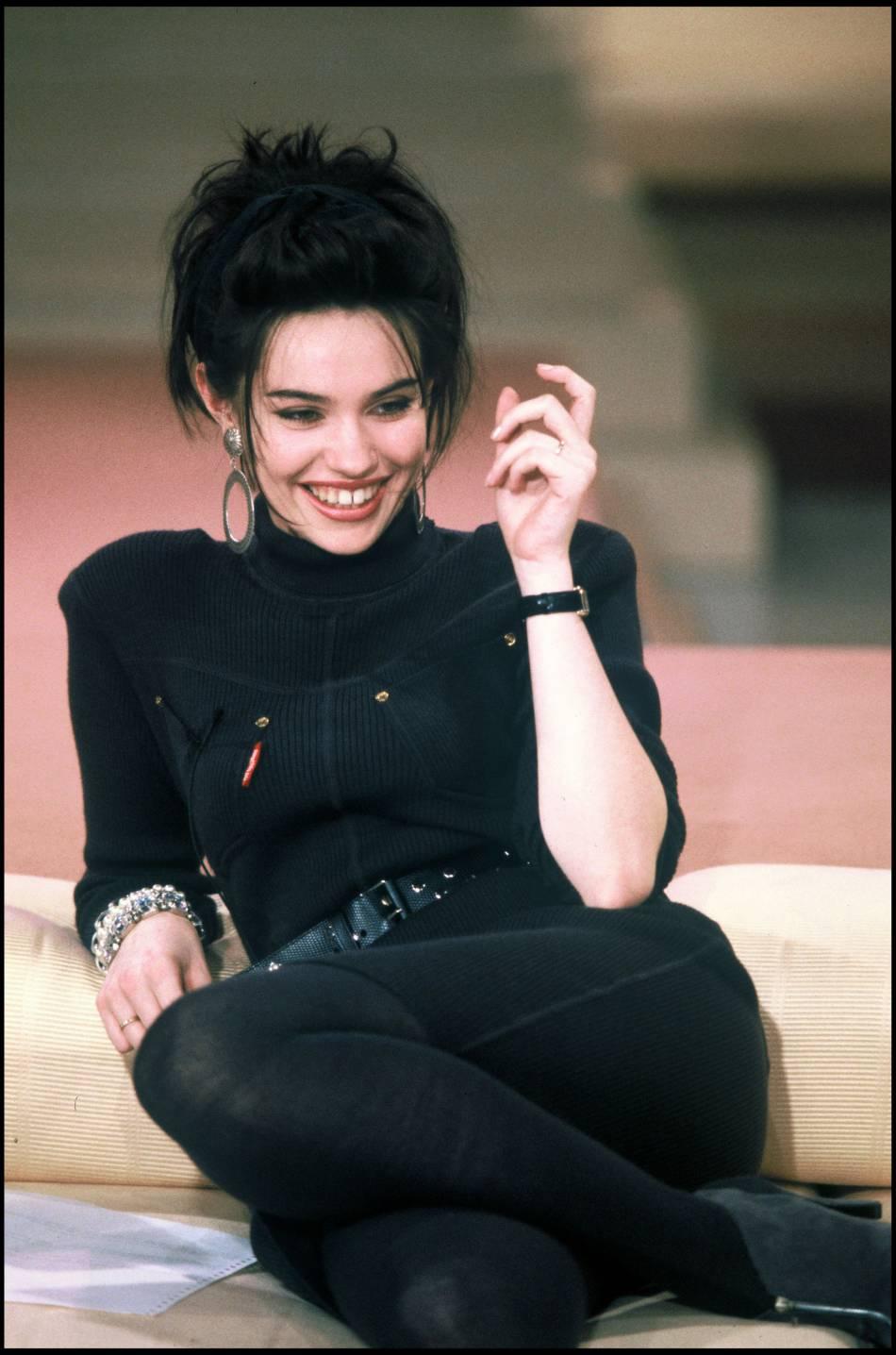 Béatrice Dalle en 1986.