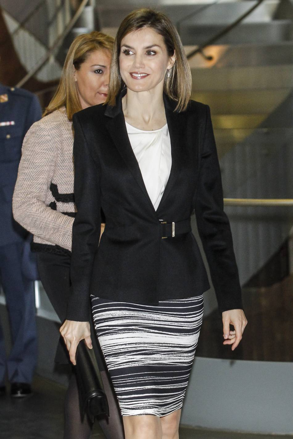 Letizia d'Espagne, une reine des plus élégantes.