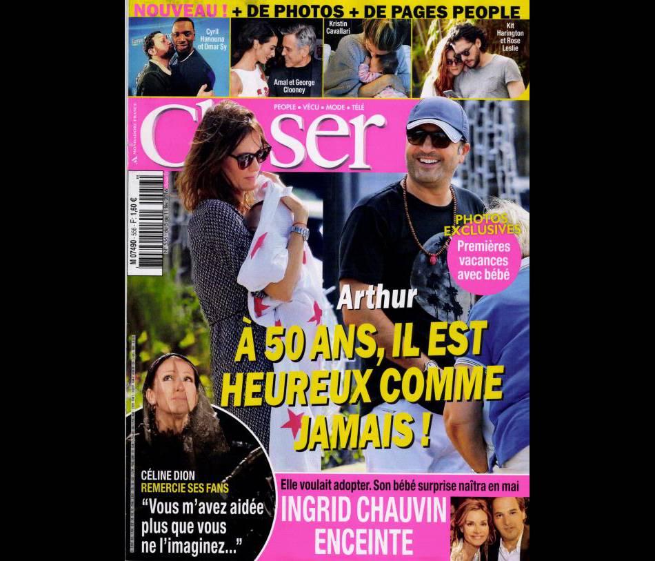 Retrouvez l'intégralité de l'interview de Marilou Berry dans le dernier numéro du magazine  Closer , actuellement dans les kiosques.