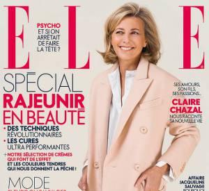 Claire Chazal fait pour la première fois la couverture de ELLE.