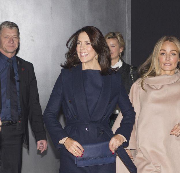 Princesse Mary de Danemark lors de l'ouverture de la semaine de la mode de Copenhague le 3 février 2016.