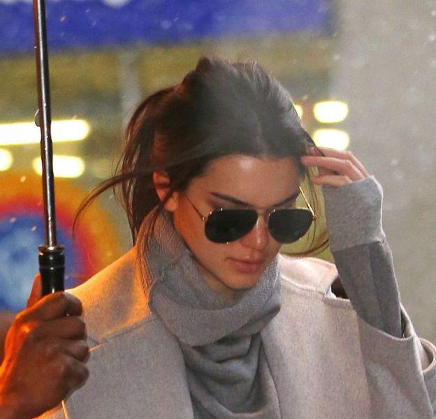 Kendall Jenner dans les rues de New-York en février 2016.