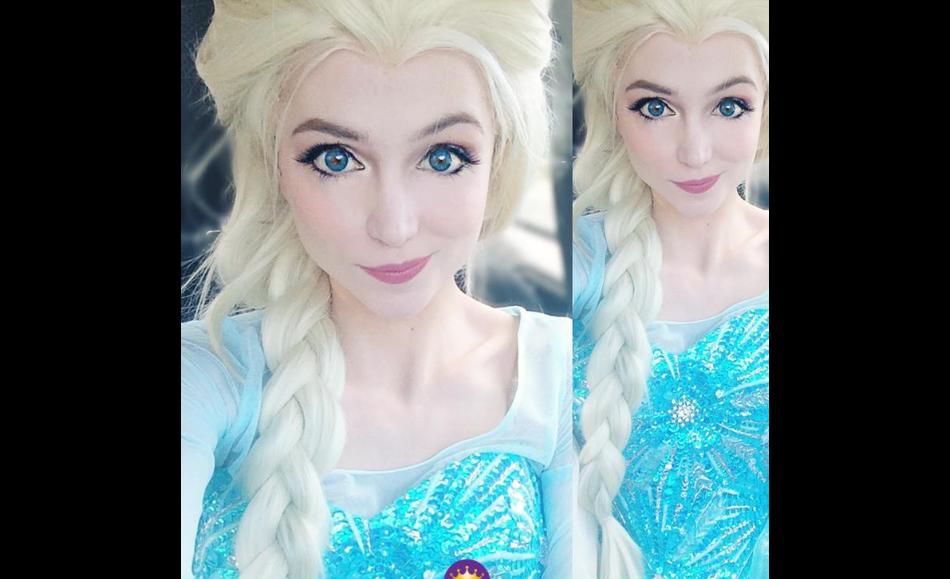 Sarah Ingle a dépensé plus de 12 500 euros pour ses robes et perruques de princesses Disney.