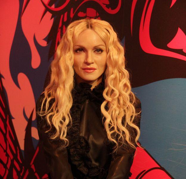 Madonna : la chanteuse a eu un accident de costume en plein concert.
