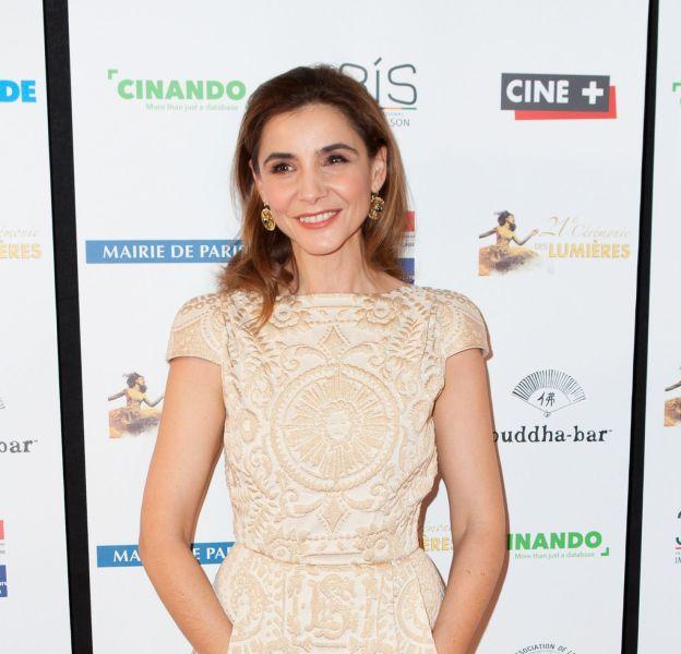 Clotilde Courau à la 21ème cérémonie des prix Lumière à l'Espace Pierre Cardin à Paris le 8 février 2016.