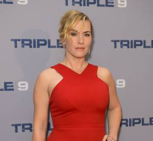Kate Winslet : beauté fatale toute en courbes, moulée dans une robe rouge