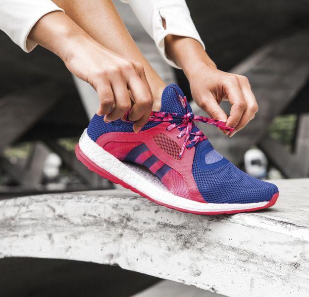 Adidas présente sa nouvelle paire de basket, la Pure Boost X.