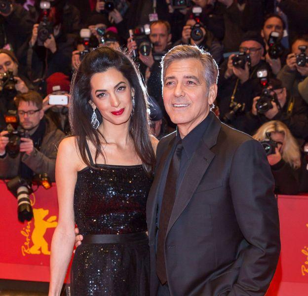 Amal et George Clooney, un duo très glamour jeudi 11 février pour l'ouverture du Festival du film de Berlin.