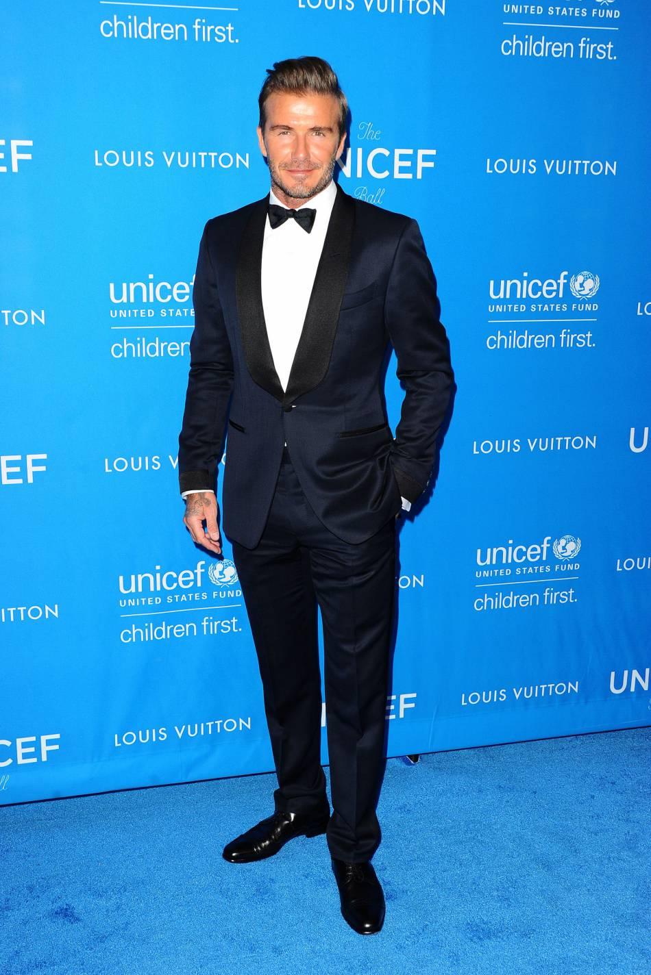 Top 5 des stars masculines avec qui on aimerait passer la Saint-Valentin : le beau  David Beckham
