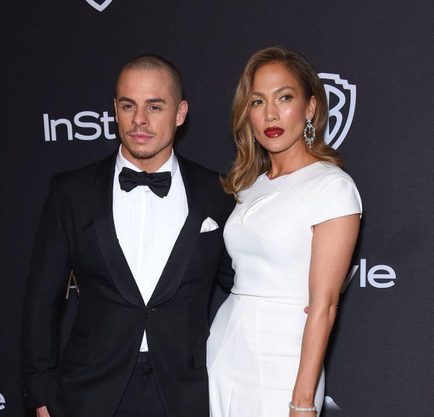 Jennifer Lopez, totalement canon au bras de Casper Smart, le 10 janvier dernier.