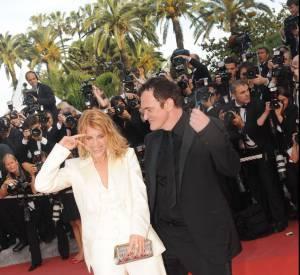Mélanie Laurent et Quentin Tarantino à Cannes en 2009.
