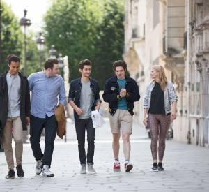 Julia, Vadim, Nestor, Timothée et Samuel sont amis depuis l'enfance.