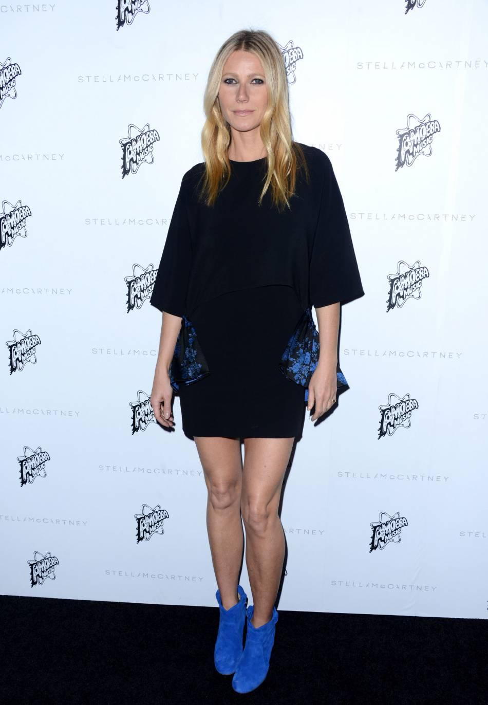 Gwyneth Paltrow joue les quadras plus cools : manger bio c'est bien, mais si on peut boire un verre de temps en temps, c'est mieux !
