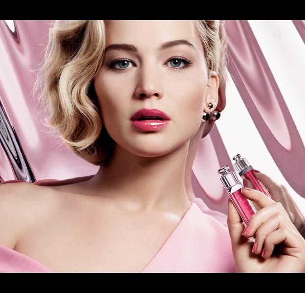 Jennifer Lawrence pour Dior, ultra-gloss addict