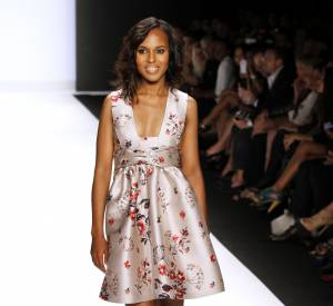 Kerry Washington sur les podiums : elle n'a pas besoin de Photoshop !
