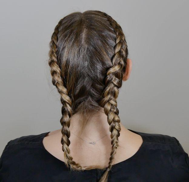 """Le clan Kardashian a lancé la mode de la """"cornrow braid""""."""