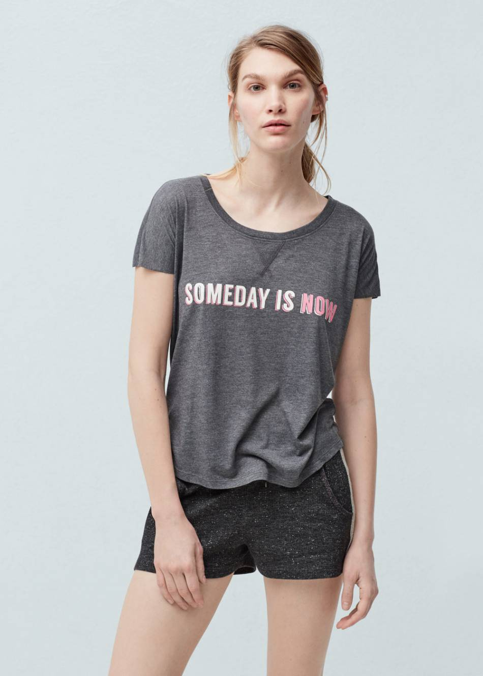 T-shirt Mango, 15.95 euros