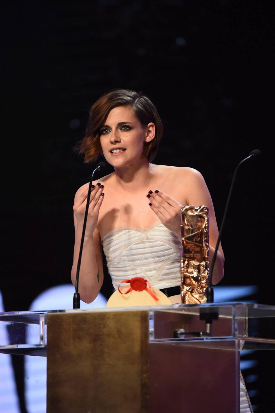 """L'actrice a reçu en 2015 un César du meilleur second rôle féminin pour """"Sils Maria""""."""