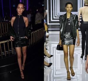 Bella Hadid vs Lineisy Montero : l'ensemble cuir et sexy Versus Versace