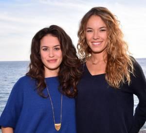 Alice David et Elodie Fontan, le match de style de deux jolies comédiennes françaises.