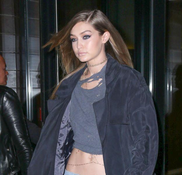 Gigi Hadid se la joue bombe sexuelle à New York.