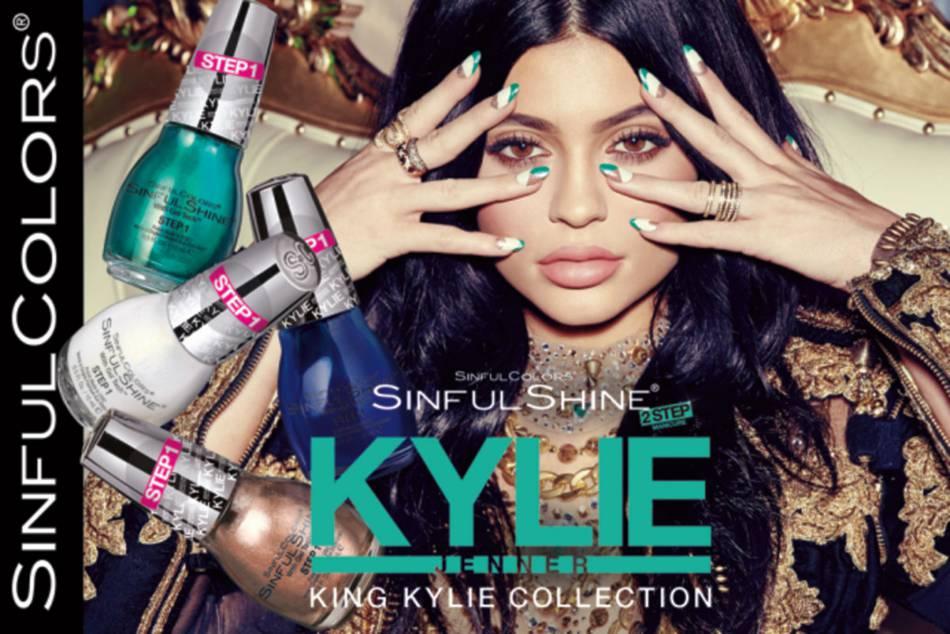 Kylie Jenner a sorti sa ligne de vernis à ongles.