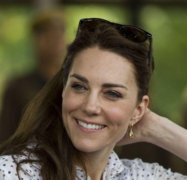 Kate Middleton, radieuse pour son quatrième jour de visite en Inde.