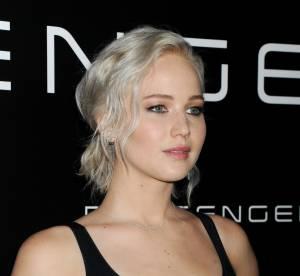 Jennifer Lawrence : sans soutien-gorge sur red carpet, délicieusement bohème