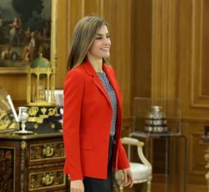 Letizia d'Espagne : la reine dévoile ses chevilles dans un étrange pantacourt