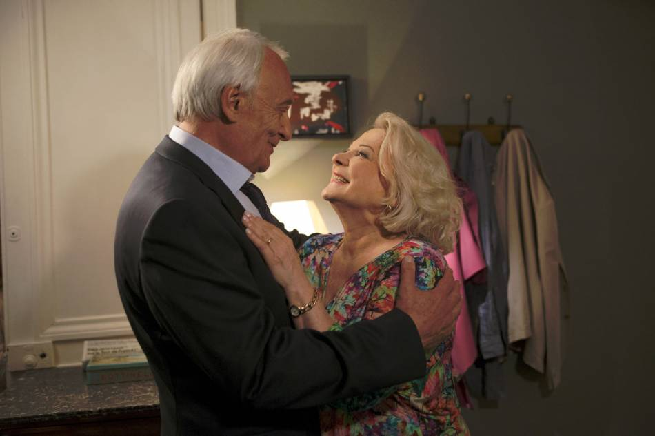 Le film met aussi l'accent sur l'amour des seniors, un sujet peu abordé.
