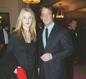Sandrine Kiberlain et Vincent Lindon en 2000, année de naissance de leur fille Suzanne.