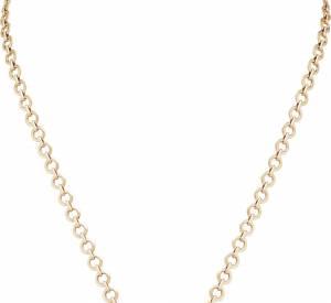 """Sautoir """"Bouton d'or"""" en or rose, cornaline, nacre et diamants de Van Cleef & Arpels."""