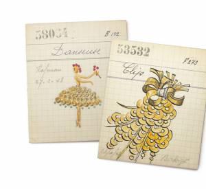 """Les """"paillettes"""" de Van Cleef & Arpels en 1930."""