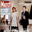 Brigitte et Emmanuel Macron font la couverture du nouveau numéro de  Paris Match .