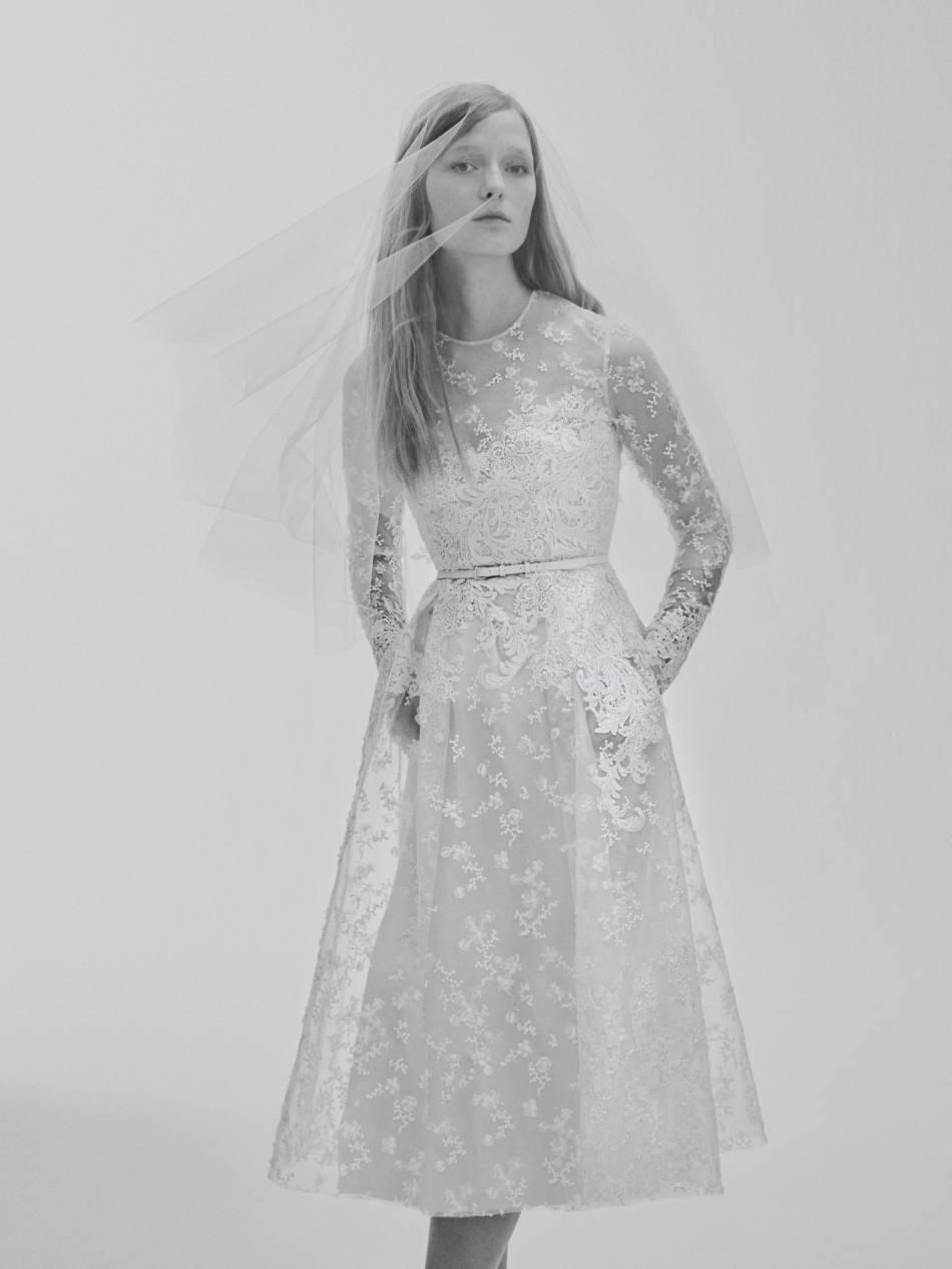 Une robe de mariée courte, on dit oui !
