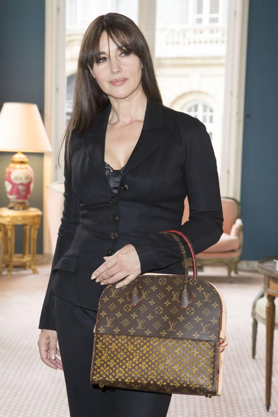 Monica Bellucci prend soin de ne pas exposer ses filles.
