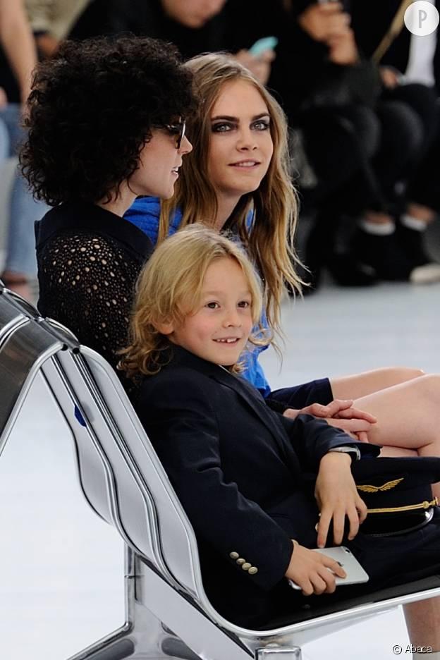 Hudson Kroenig, 8 ans, est le petit chouchou de Karl Lagerfeld et fils du mannequin Brad Kroenig.