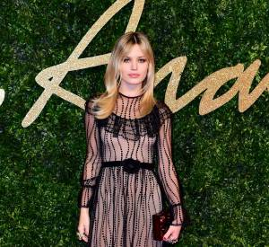 Georgia May Jagger lors des British Fashion Awards 2015.