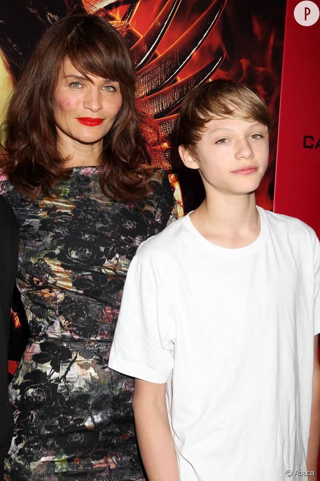 Mingus Reedus est le fils d'Helena Christensen et Norman Reedus, ici, en 2013 aux côtés de sa mère.