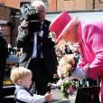 Elizabeth II a un faible pour les jeunes enfants. Le cliché pris par Annie Leibovitzà l'occasion des 90 ans de la reine le montre parfaitement.