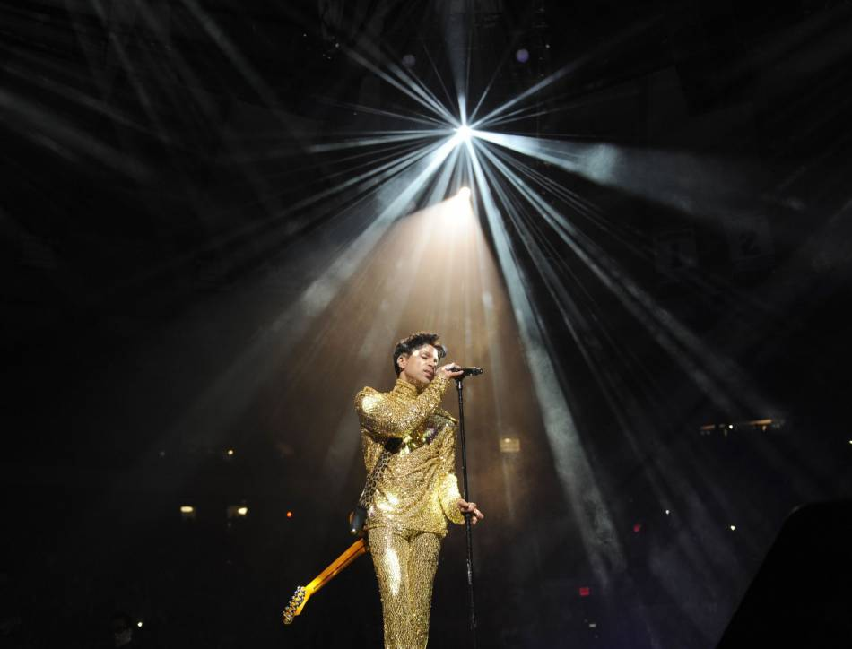 Prince en 2011 à New York.