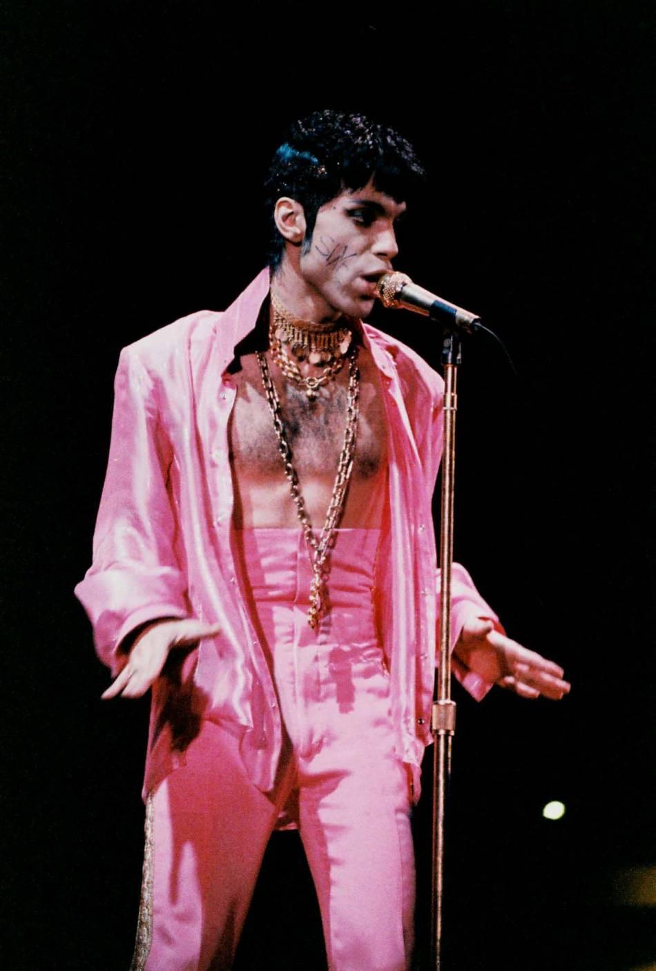 Prince en 1995 à Londres.