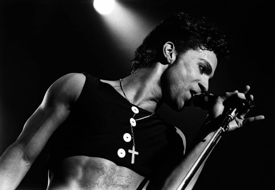 Prince en 1986 aux Pays-Bas.
