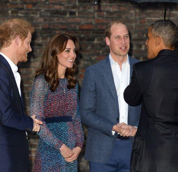 Kate Middleton une fois de plus ravissante pour accueillir le couple Obama