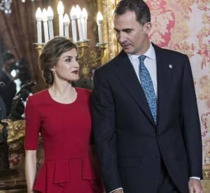 Letizia d'Espagne : femme fatale pour un déjeuner aux côtés du roi Felipe VI